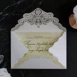 Vintage Prestige Wedding Invite