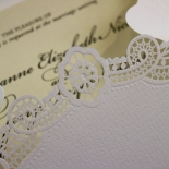 Vintage Prestige Wedding Card