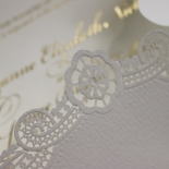 Vintage Prestige with Foil Invite Card