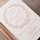 Whimsical Garland Invite Card