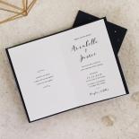 Written In The Stars - Navy Invite Card Design