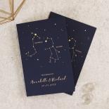 Written In The Stars - Navy Card Design