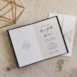 Written In The Stars - Navy Wedding Invitation Card Design