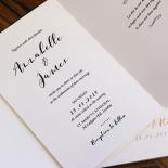 Written In The Stars Wedding Invite Card