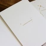 Written In The Stars Invite Card Design