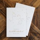 Written In The Stars Invitation Card Design