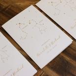 Written In The Stars Invitation Design