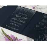 Midnight Sparkle - Wedding Invitations - BP-SOLPW-TR30-NS - 184101