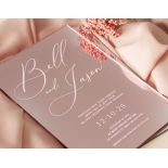 Romantic Mirror - Wedding Invitations - ACR-RGMR-WH-1 - 184369