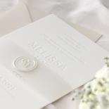 Immaculate Letterpress - Wedding Invitations - IC550-LPBD-02 - 184944