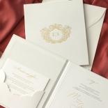 Hardcover Textured White - Wedding Invitations - HC-TW01 - 184351