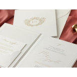 Hardcover Textured White - Wedding Invitations - HC-TW01 - 184346