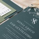 Forest Romance - Wedding Invitations - GI-MB300-WH-14 - 185330