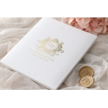Lush Leather Hardcover - Wedding Invitations - HC-LLWH-01 - 184957