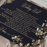 Navy Imperial Glamour - Wedding Invitations - PWI116022-NV-WH - 185222