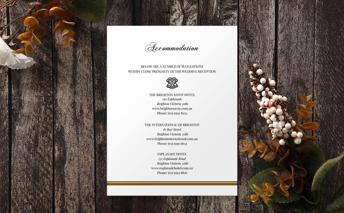 Wedding Invitation Sets - Complete & Cohesive Stationery